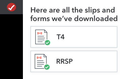 Here are the slips and forms we've downloaded.