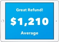 Great Refund! $1,210