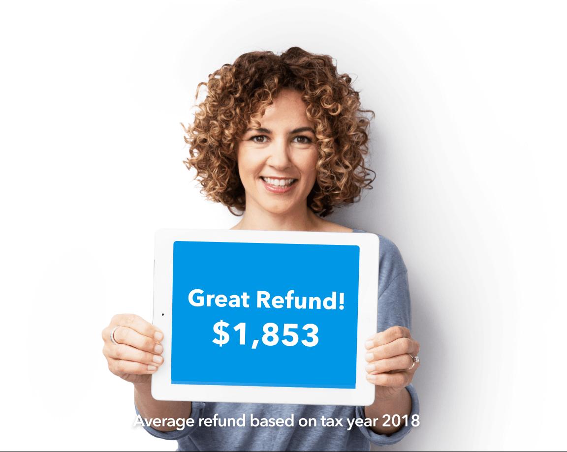 Great refund! $1,853