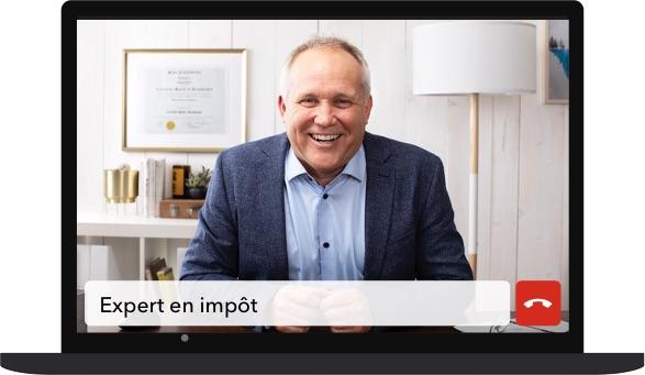 Un expert en impôt pour travailleurs autonomes à votre écran